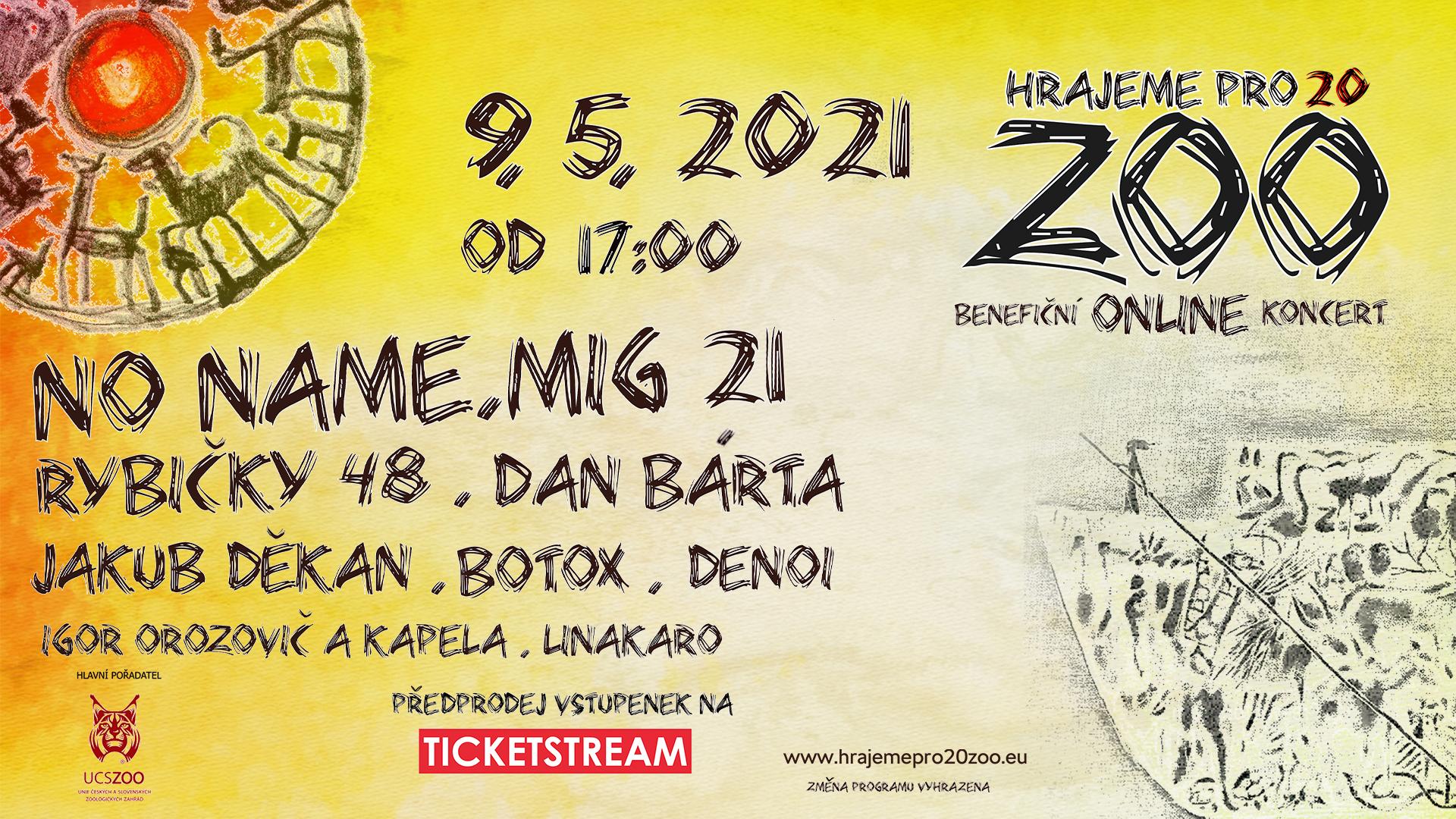"Benefiční online koncert ""Hrajeme pro 20 ZOO"" : Safari park"