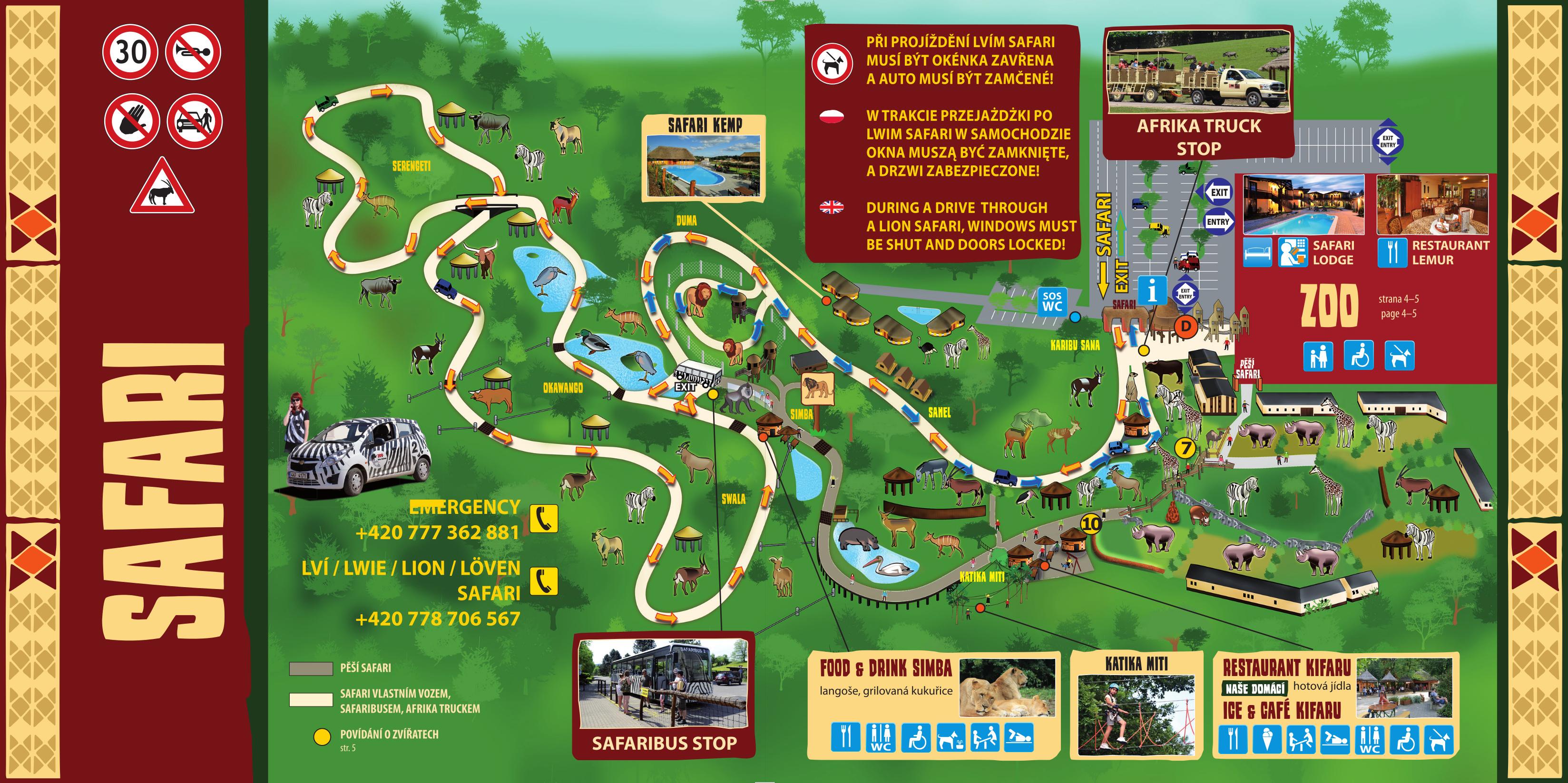 Zoo Info Zoo A Safari Dvur Kralove