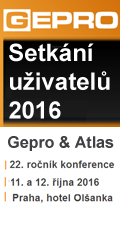 Setkání uživatelů 2016 Gepro a Atlas
